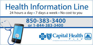 CHP Health Information Line graphic